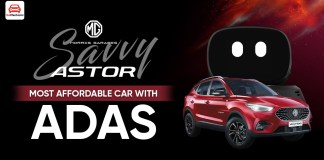 """MG Astor """"Savvy"""" Is The Cheapest Car In India With ADAS"""