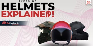 The Different Types Of Helmets- Explained!