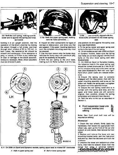 Руководство по ремонту и обслуживанию Volvo S40 и V40 1996