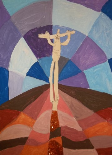 """The Crucifixion"" by Year 2"