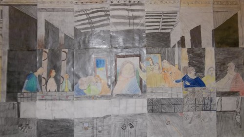 """The Last Supper"" by Year 5"