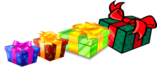 Day 9 presents