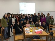 Workshop participants - Photo from Progress Report 'Reflection from contest participants, teachers and principal
