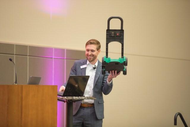 blake presenting at YP Summit 2018