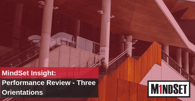 Performance review - three orientations