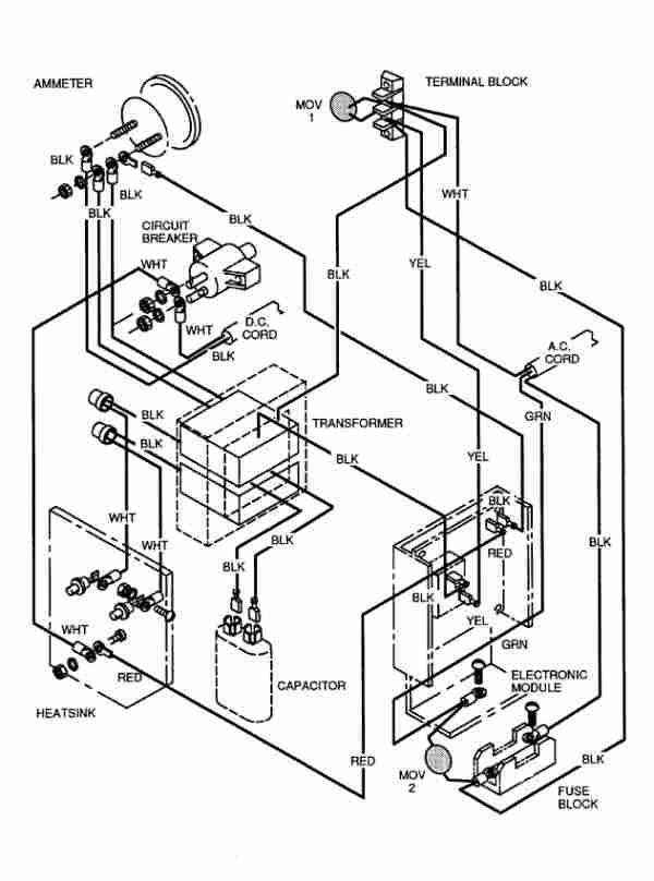 1994 gas club car wiring diagram control cables wiring diagram