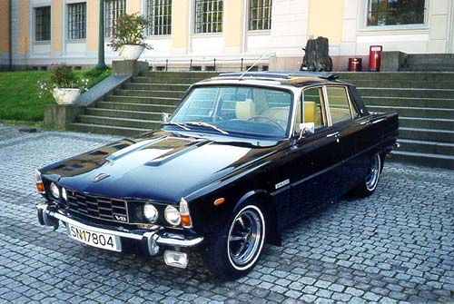 Rover P6 3500 Picture 6 Reviews News Specs Buy Car