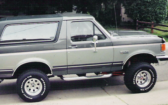Ford Bronco XLpicture  7  reviews news specs buy car