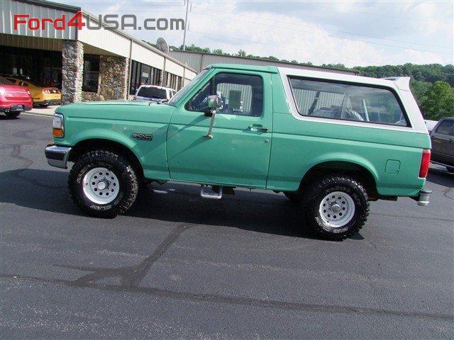 Ford Bronco XLpicture  12  reviews news specs buy car