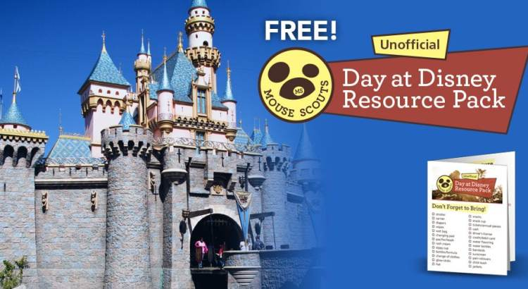 Unofficial Day at Disney Resource Pack