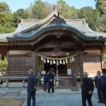 富田神社で新嘗祭