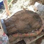 石窯本体の型を作る