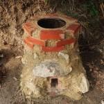 ため池の浚渫、タンドール窯づくり(その2)