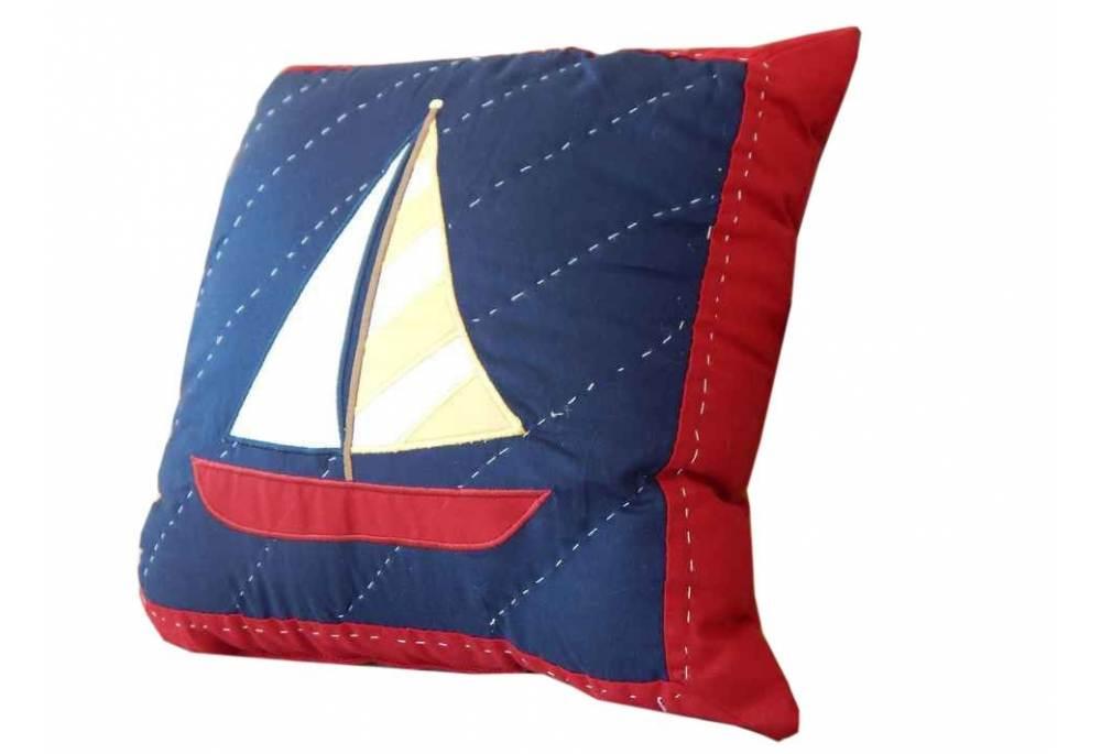 Sailboat Decorative Throw Pillow