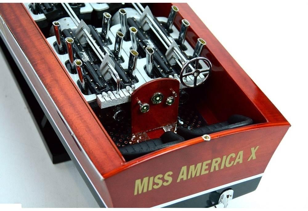 Gar Wood Miss America Super Speed Boat Model