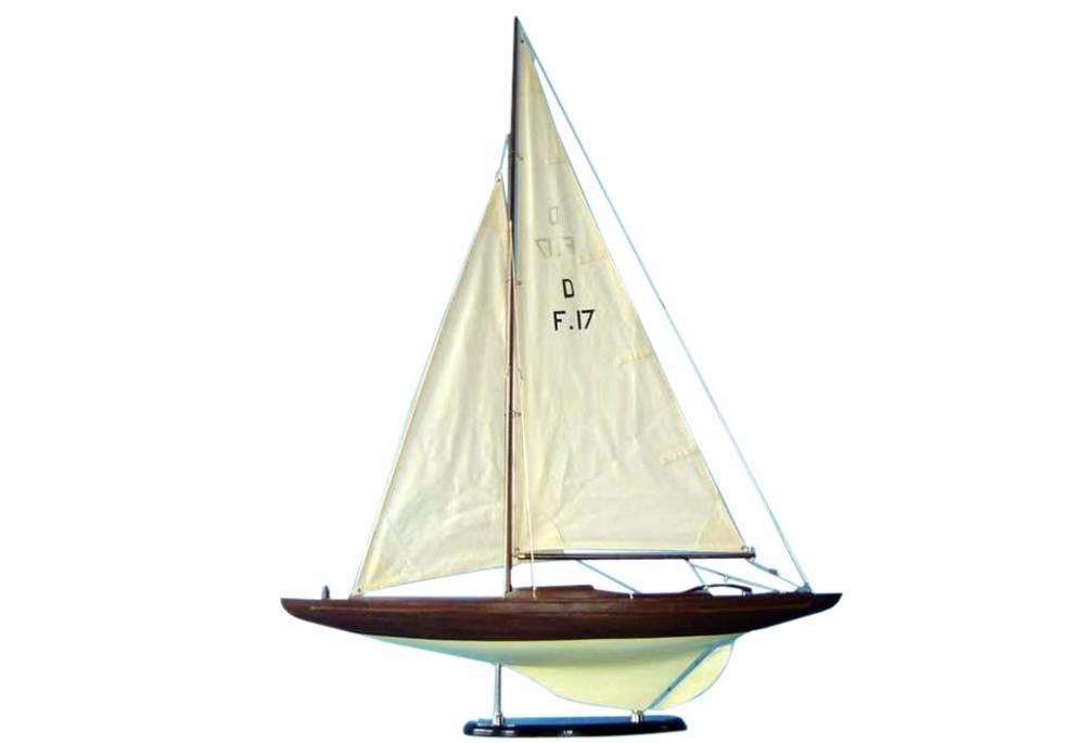 Olympic Class Sailboat Model Dragon