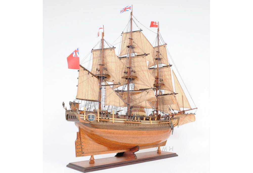 tall kitchen table and chairs wheelchair hockey wooden handbuilt hms bounty model ship