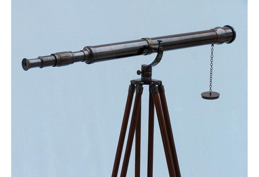 Floor Standing Oil Rubbed Bronze Galileo Telescope 65