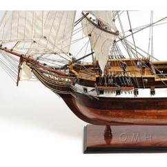 Tall Kitchen Tables Pictures Of Sinks Famous Ship Wooden Model Uss Constellation