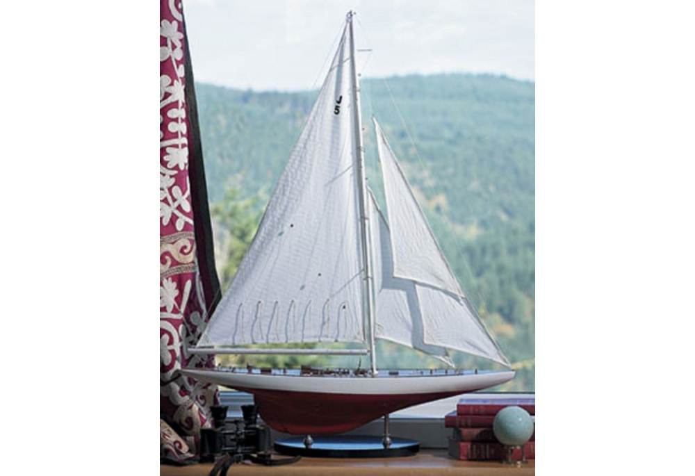 Yacht Ranger Model 1937 Famous Americas Cup Racing Sailboat