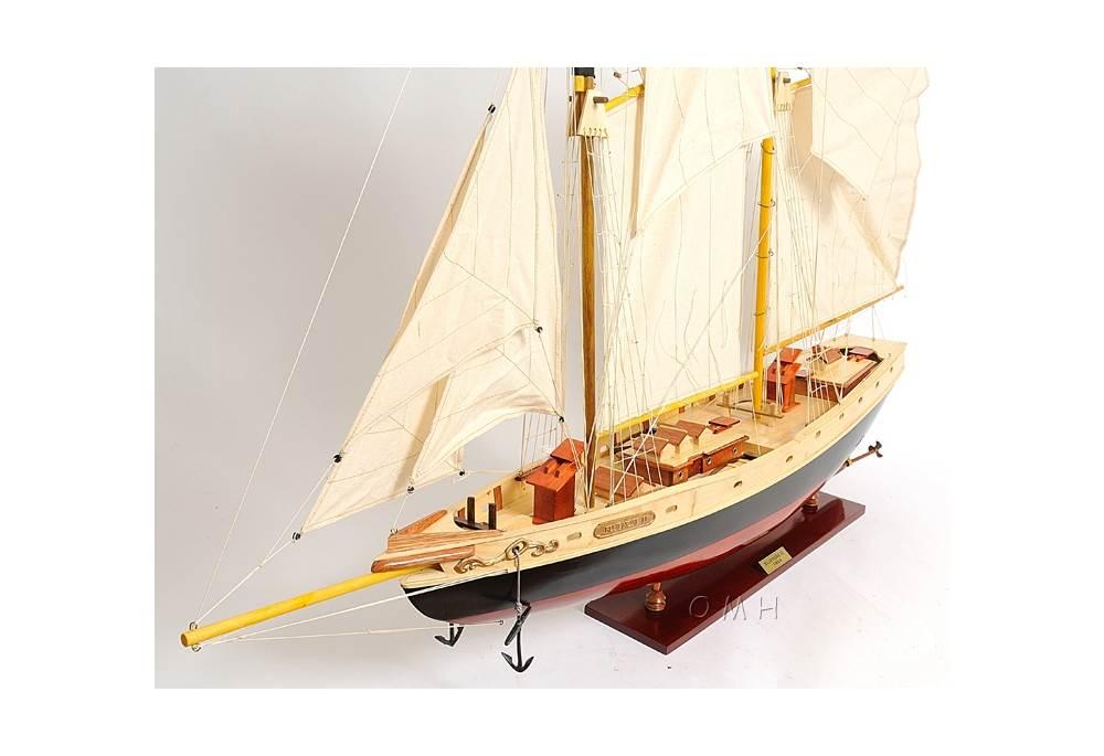 large kitchen clocks water efficient faucet bluenose schooner scaled model ship
