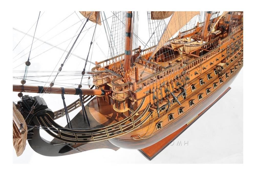 XVII Century Very Large Tall Ship Model San Felipe 73