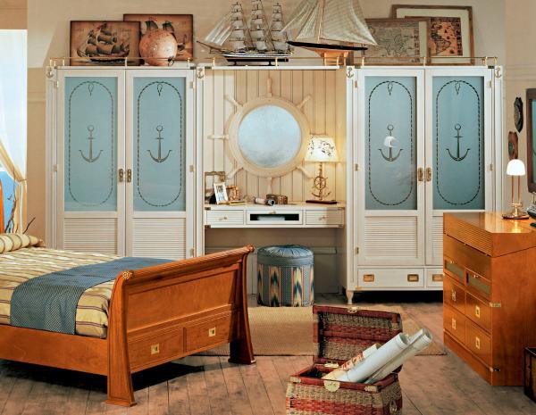 Nautical Theme Bedroom Decorating Ideas