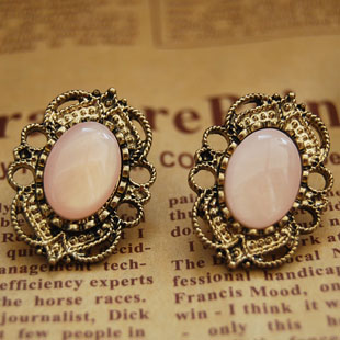 Western Retro Style Hollow out Rhinestone Earrings