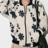 Three-dimensional Embroidered Flowers Floral Jacket