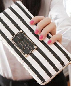 Women Wallet Zipper Long Wallet