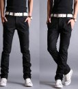 Casual Slim Fit Pencil Cotton Chino Pants