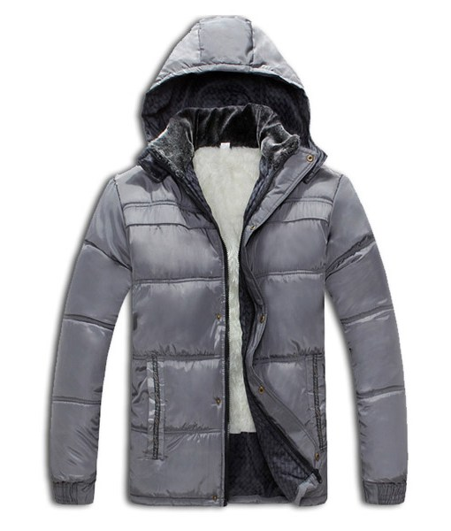 Casual Coat Thickened Hooded Cotton Warm Down Jacket