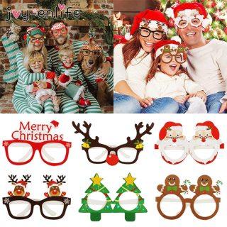 9 pcs Christmas Glasses for family