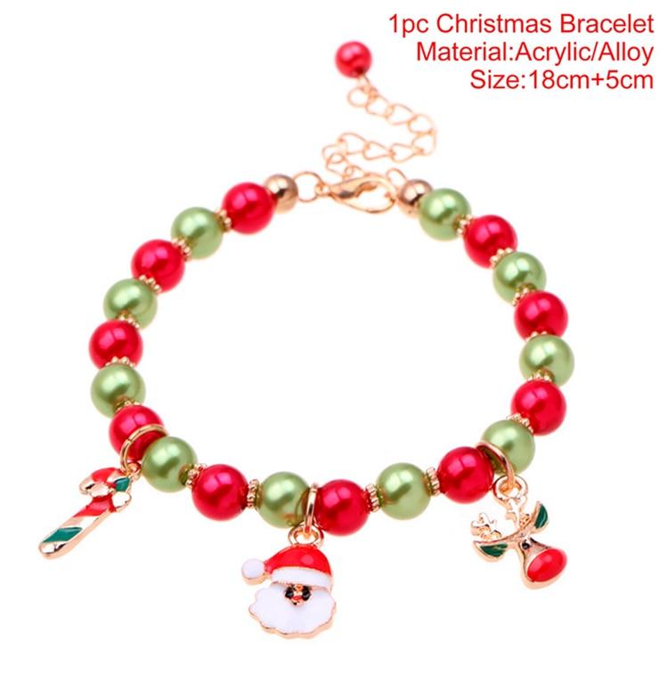 Santa Claus Snowman Christmas Jewellery