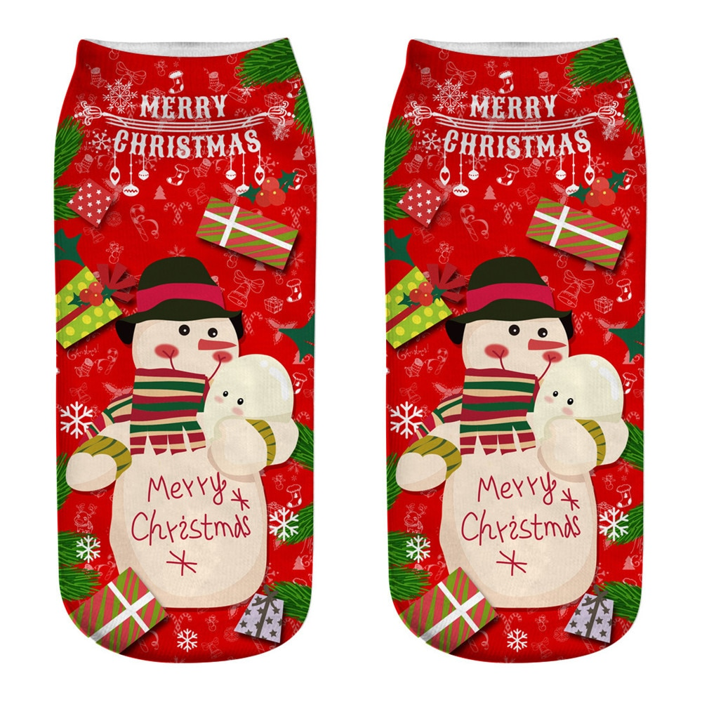 Cotton Super Cozy Christmas Socks