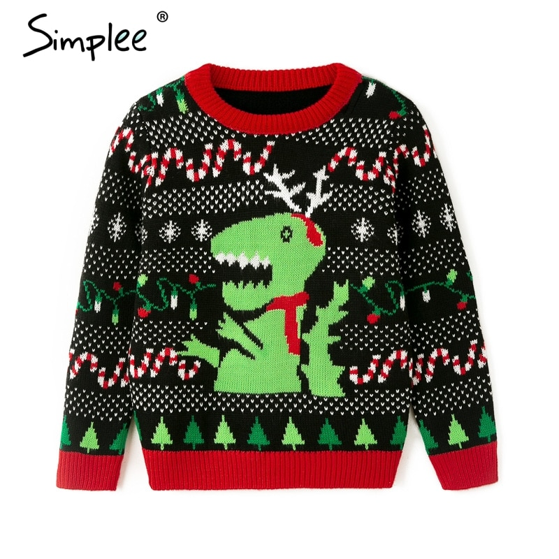 Family Matching Knitted Xmas Christmas 2020 Pullover
