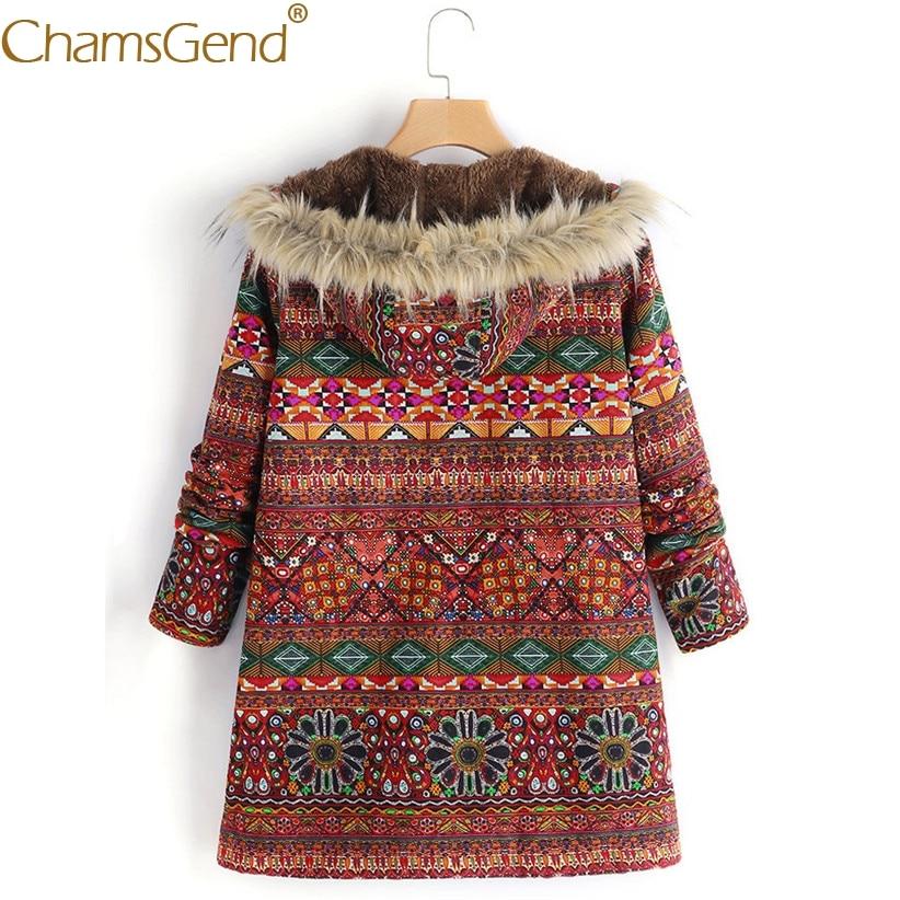 Thick Fleece Boho Warm Fur Overcoat Jackets