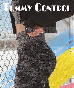 Womens High Waist Seamless Leggings Workout Yoga Stretch Pants Butt Lift Tummy Control Tights