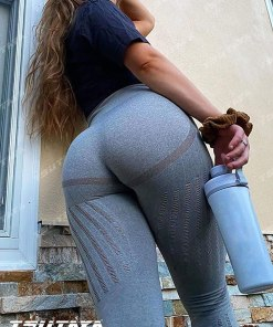 Yoga Pants High Waisted Leggings for Women Gym Active Vital Seamless Workout Tummy Control Leggings