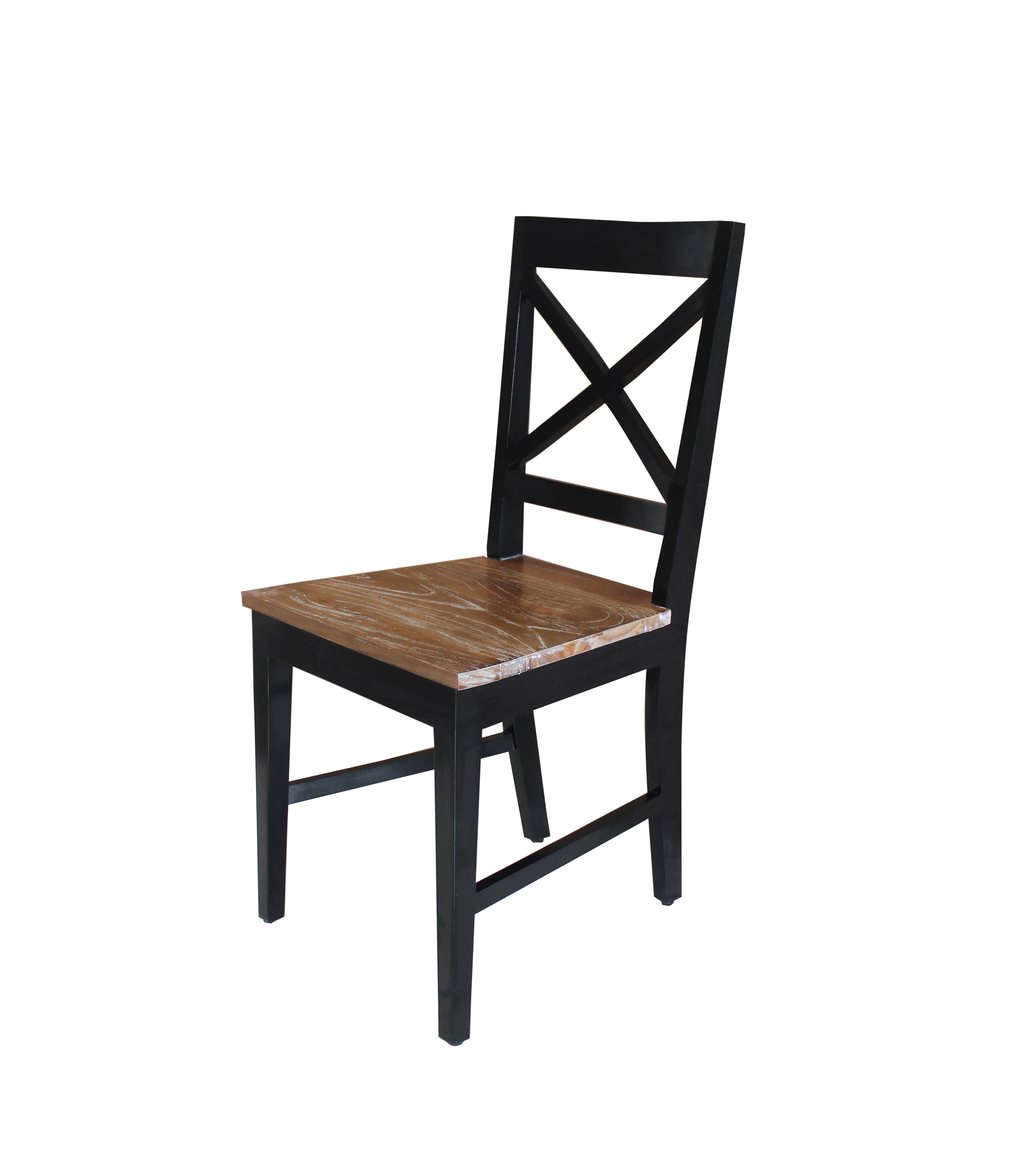 black cross back dining chairs nursery rocking chair cushion covers gone bazzar