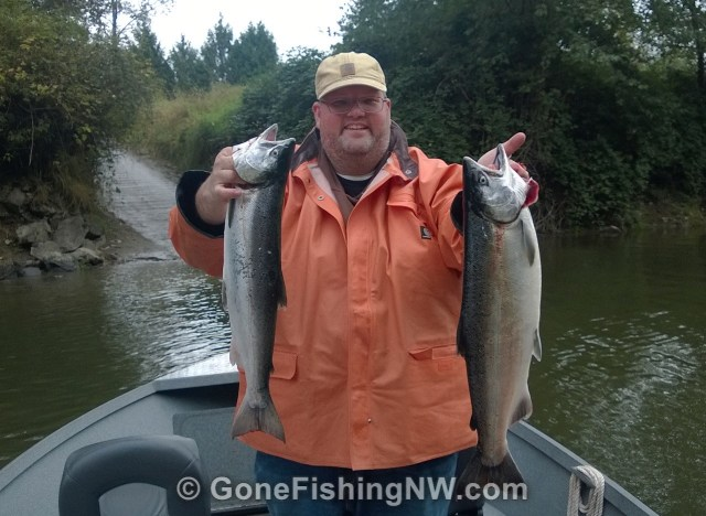 The best how to guide for coho salmon river fishing gone for Snohomish river fishing