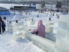 Ice Slide Novosibirsk