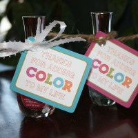 Teacher Appreciation Nail Polish Gift Tags