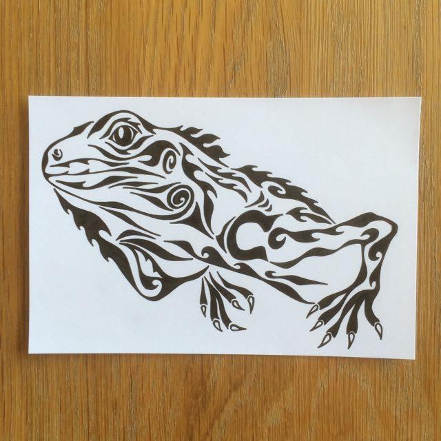 イグアナ タツゥー tattoo