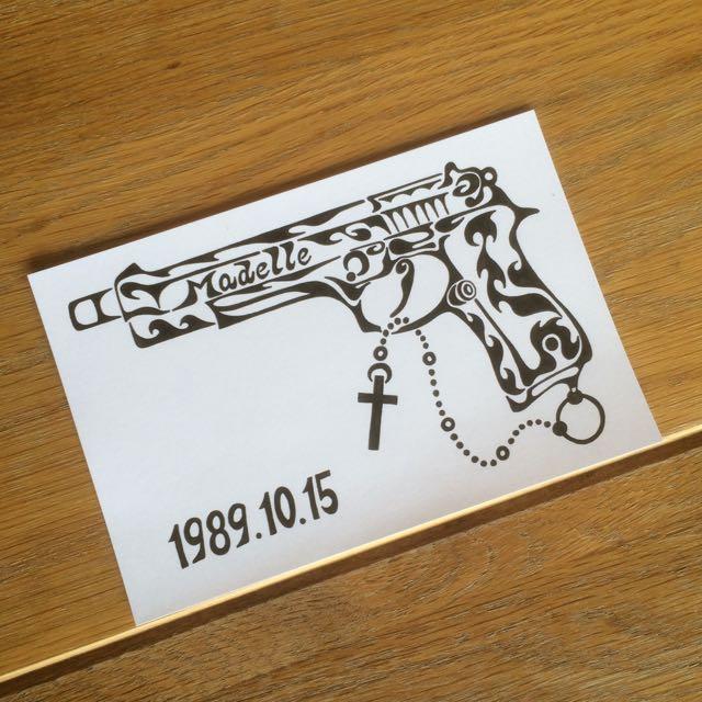 ピストル ロザリオ 拳銃