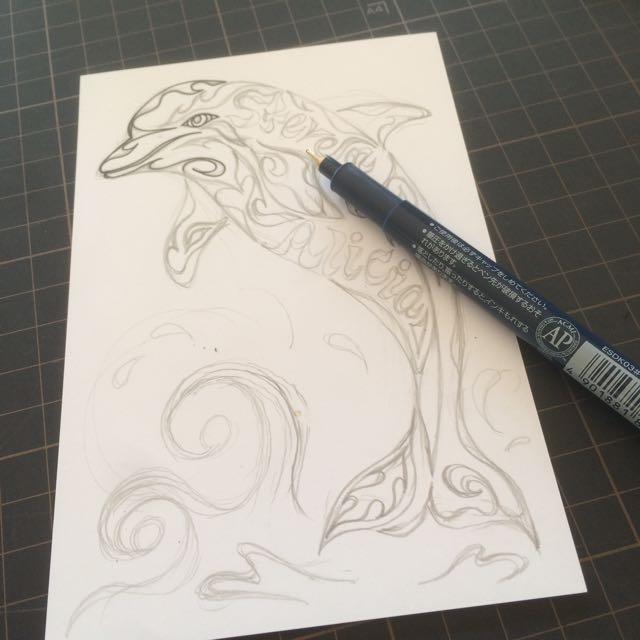 イルカ,イルカの絵