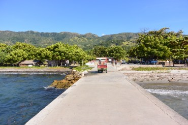 Jetty on Ataru, Timor-Leste