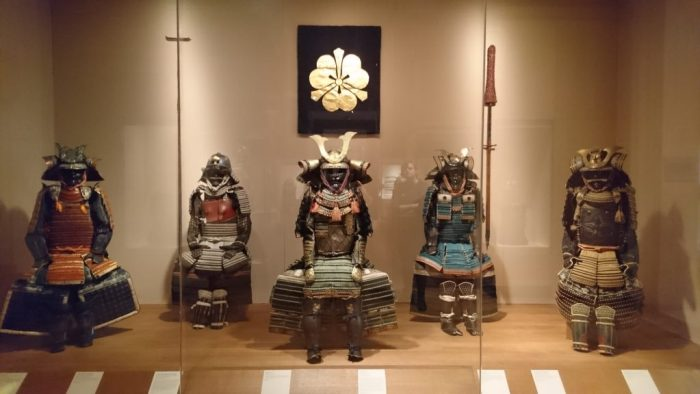 Samurai armor in the Met