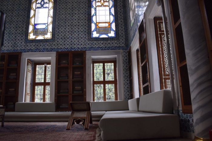 Topkapi Palace library Istanbul