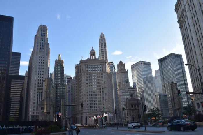 Center of Chicago